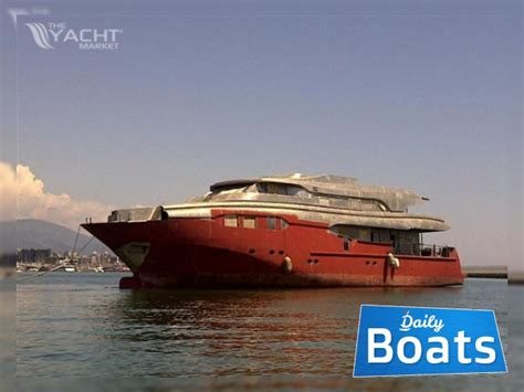 Boat Hull Project For Sale by Costom Made Steel Allumin Superyacht Hull Unfinished