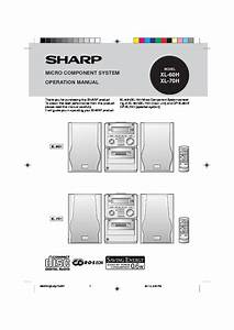 Sharp Xl  Operation Manual  U2014 View Online Or