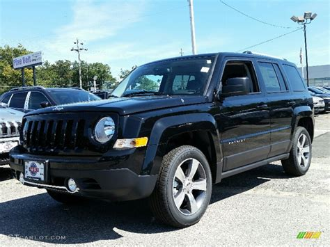 jeep patriot 2016 black 2016 black jeep patriot high altitude 4x4 107340338 photo