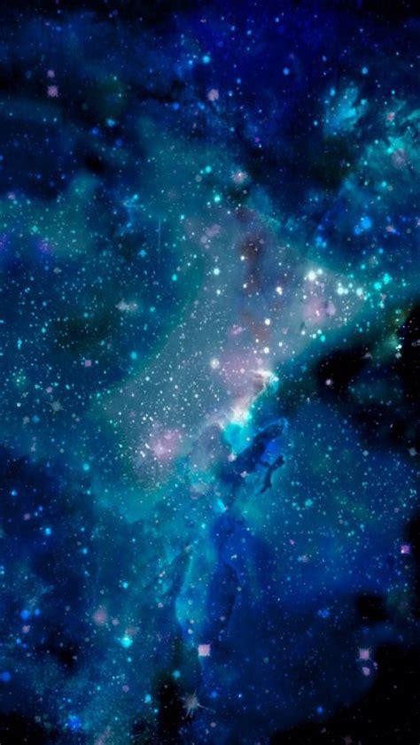Blue Galaxy Wallpaper For Iphone 5 Phone Stuff