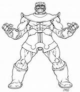 Thanos Coloring Pages Avenger Marvel Avengers Printable Returns Inked Ausmalbilder Lineart Sheets Warlock Adam Fans Comic Detailed Deviantart Dc Von sketch template