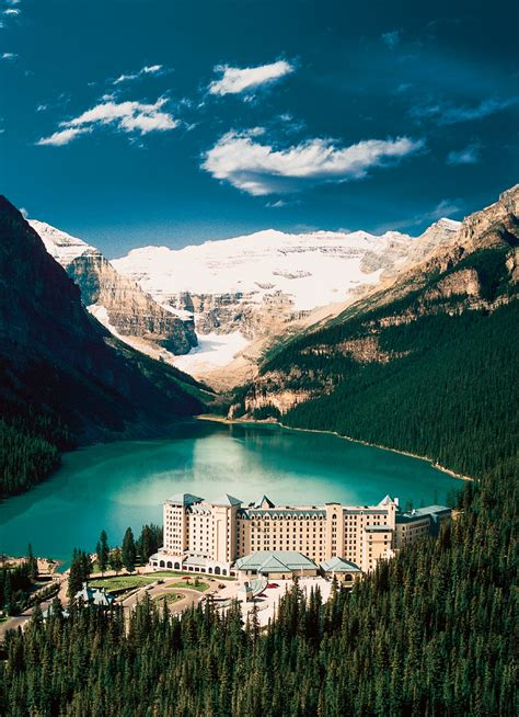 mountain paradise  chateau lake louise idesignarch
