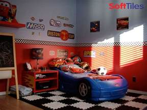 Car Themed Bedroom by Race Car Room Puzzle Foam Floor Mats Softtiles
