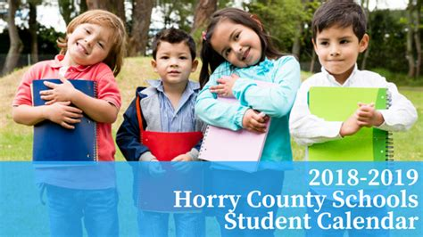 horry county schools calendar students