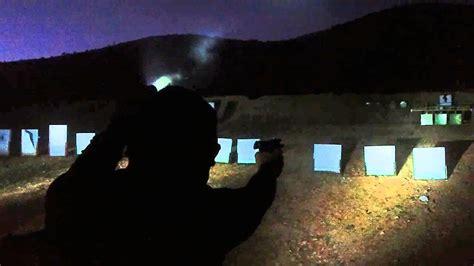 night shooting   shooting range youtube