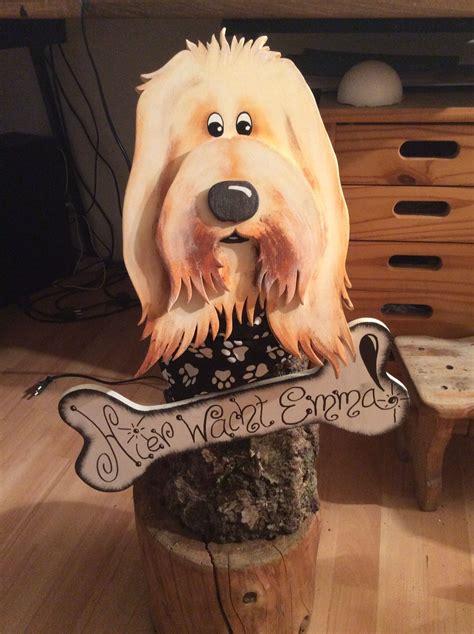 Deko Gewächshaus Holz by Hund Deko Holz Baumstammfigur Holzarbeiten Dogs Wood