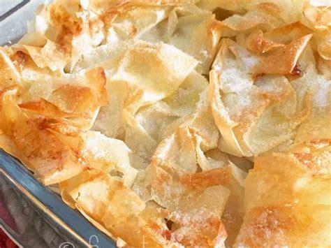 recette avec pate filo pommes recettes de pate filo et pomme