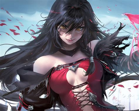wallpaper velvet crowe hot anime girl hd anime