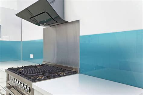 Fun Kitchen Backsplash Combining Stainless Steel Behind