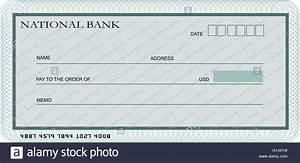 Annuler Un Cheque De Banque : mod le de ch que de banque en blanc dans des tons de vert banque d 39 images photo stock ~ Medecine-chirurgie-esthetiques.com Avis de Voitures