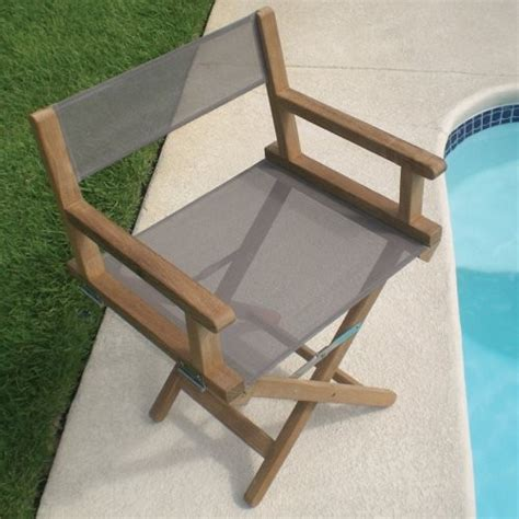 royal teak folding director chair contemporary outdoor