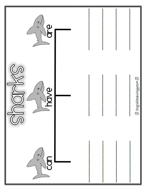 Shark Reportpdf  Worksheet  Pinterest  Teaching Science And Worksheets