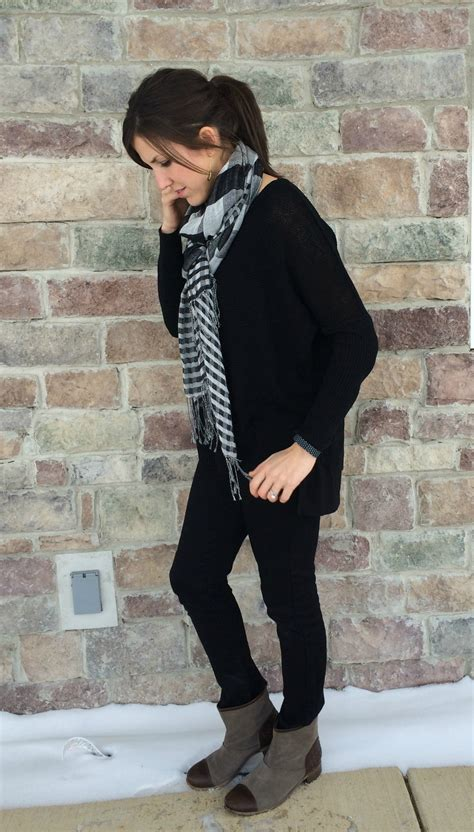 What I Wore Real Mom Style Wearing Black On Black