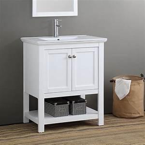 fresca, manchester, 30, u0026quot, , white, traditional, bathroom, vanity