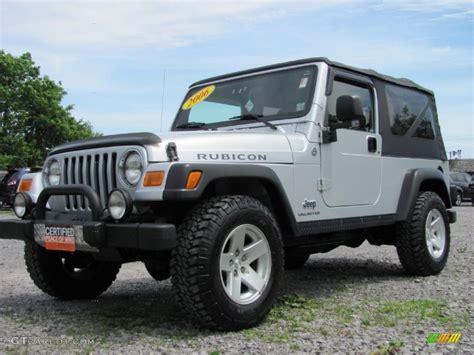 jeep rubicon silver 2006 bright silver metallic jeep wrangler unlimited