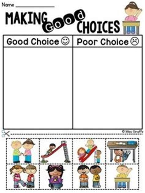 choices activity sheets activity choices 945 | 408b7289ba90e996a1f850dde9926110