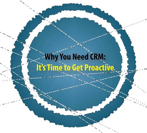 Why You Need Crm It's Time To Get Proactive Microsoft
