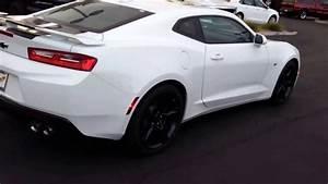 2017 Camaro SS white y0035 hndy - YouTube
