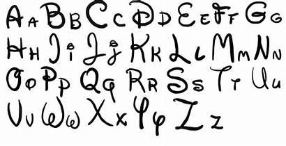 Disney Lettering Font Letter Stencils Stencil Deviantart