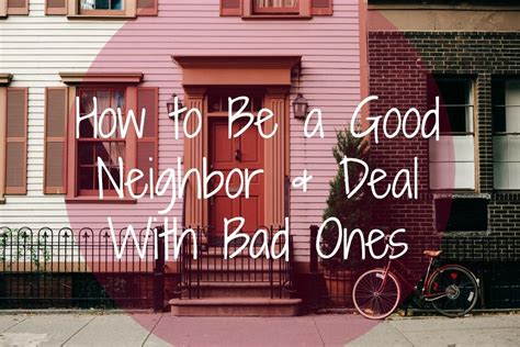 Apartment Living Neighbors by How To Be A And Deal With Bad Ones Mclife