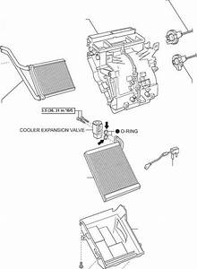 Air Conditioning Unit For Sedan Components