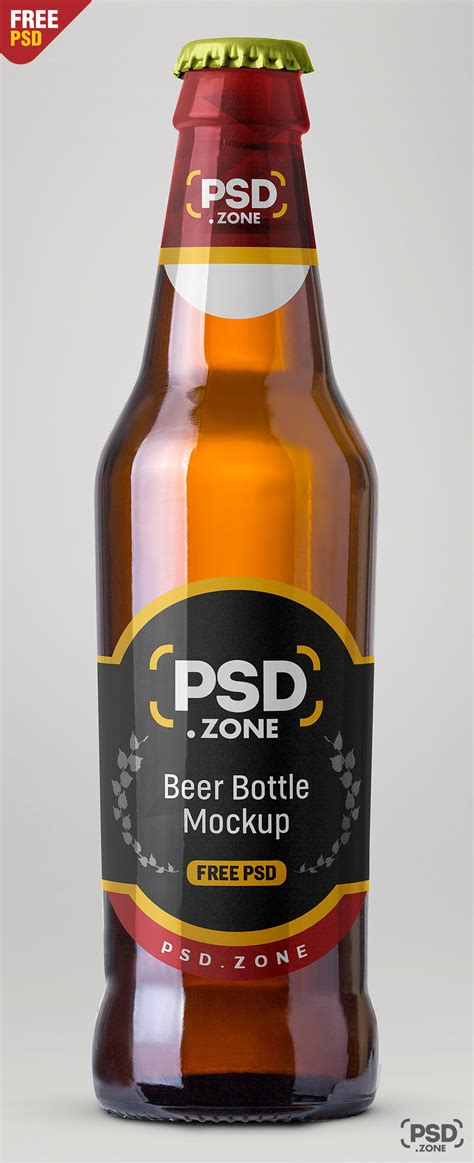 Find & download free graphic resources for bottle mockup. Beer Bottle Mockup Free PSD - PSD Zone