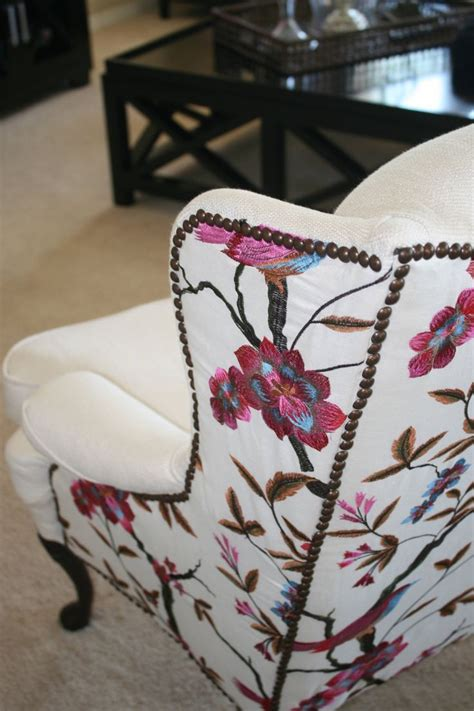 Upholstery For Chairs by 25 Best Ideas About Wingback Chairs On Wing