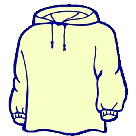 Hoodie Clipart Hooded Sweatshirt Clipart Clipart Suggest