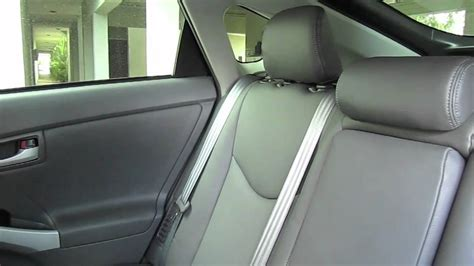 toyota prius  katzkin leather interior youtube