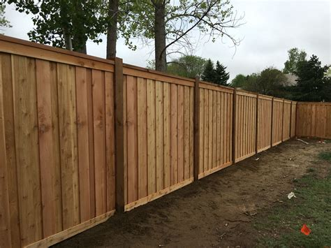 7' Tall Cedar Privacy Fence With 6x6 Posts, 2x6 Top Cap, 6