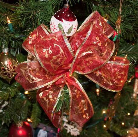 lazos para arbolito tips decoraci 243 n de navidad lazos para decorar el 193 rbol de navidad