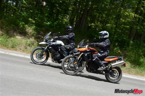 Bmw F800gs Vs. Triumph Tiger 800 Xc Test Drive Review And