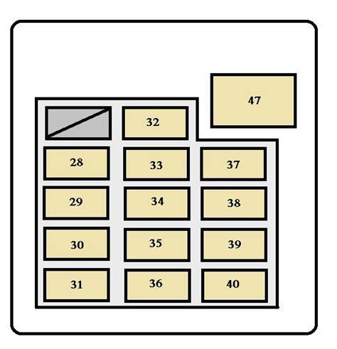 2000 tundra fuse box wiring diagram