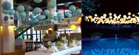 decorer une salle pour anniversaire comment accrocher ses lanternes
