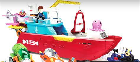 Paw Patrol Boat Game by Image Sea Patroller Toy Png Paw Patrol Wiki Fandom