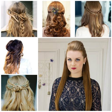 inspirations  easy wedding hairstyles  long