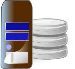 Data Server Database Clip Art