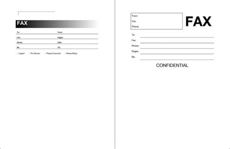 11832 fax cover sheet template word 2010 microsoft office templates fax cover sheet