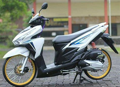 Modifikasi Motor Matic Vario 150 by Modifikasi Honda Vario 150 Paling Keren Terbaru 2019