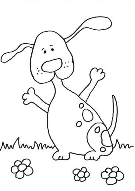 kostenlose malvorlage hunde lustigen hund ausmalen zum
