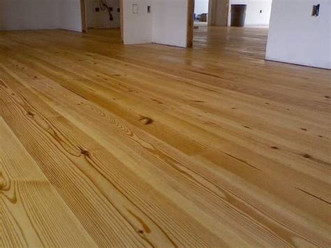 Southern Yellow Pine Flooring. We Found This Under The