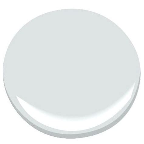 Benjamin Moore Iced Cube Silver Pale Gray  Evident