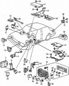 Honda Online Store   1985 Accord Fuse Box - Relay