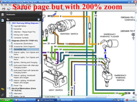 Colorized Wiring Diagrams