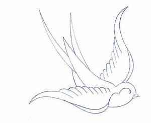 Traditional Bird by TAT-2-U.deviantart.com   INK ME ...