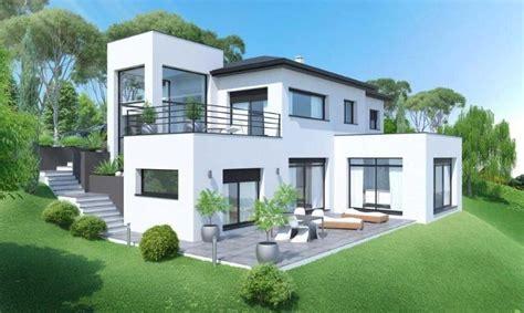 plan maison 6 chambres maison etage toit terrasse 4
