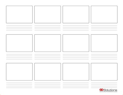 Storyboard Template Storyboard Template Pdf Www Imgkid The Image Kid