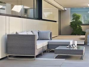 Stern Gartenmöbel Sale : stern gartenm bel kleines loungesofa fontana geflecht basaltgrau online kaufen ~ Orissabook.com Haus und Dekorationen