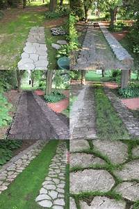 a pathway with concrete cement pathmate