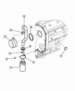 1999 Dodge Breather  Crankcase  Dieselengine